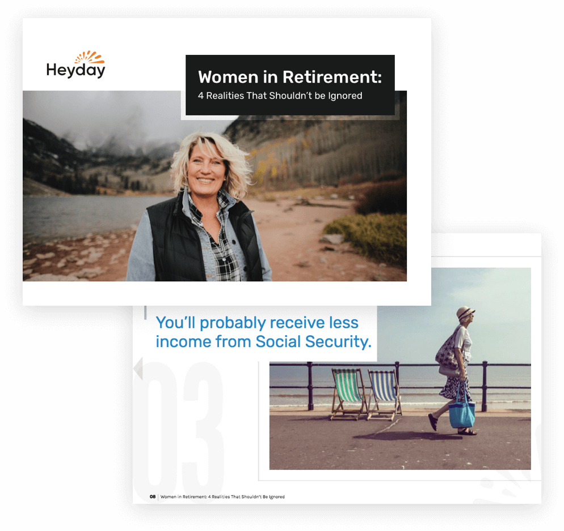 Retirement resource: Women in Retirement guidebook