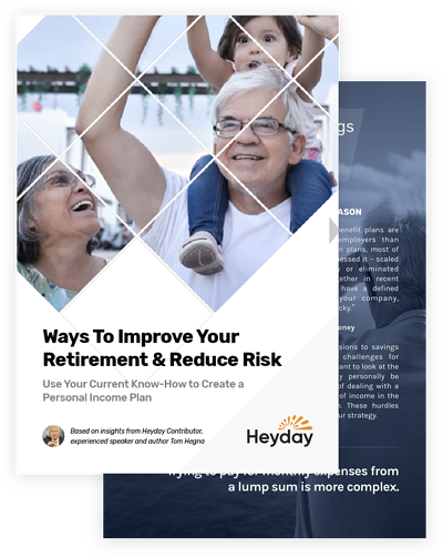 Ways to Improve Your Retirement and Help Reduce Risk