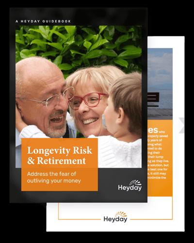 Free guidebook: Longevity Risk and Retirement