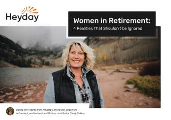 Women in retirement guidebook
