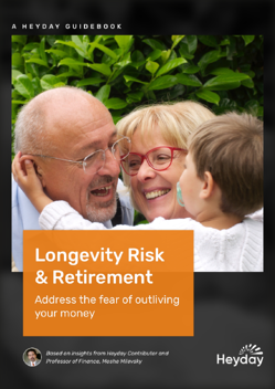 Free retirement guidebook - address the fear of outliving your money